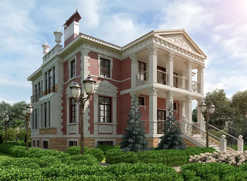 Дом в Риге